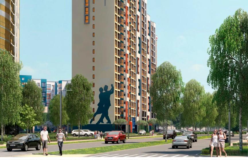 В доме «Танго» комплекса «Минск Мир» еще можно купить квартиру в рассрочку до 10 лет