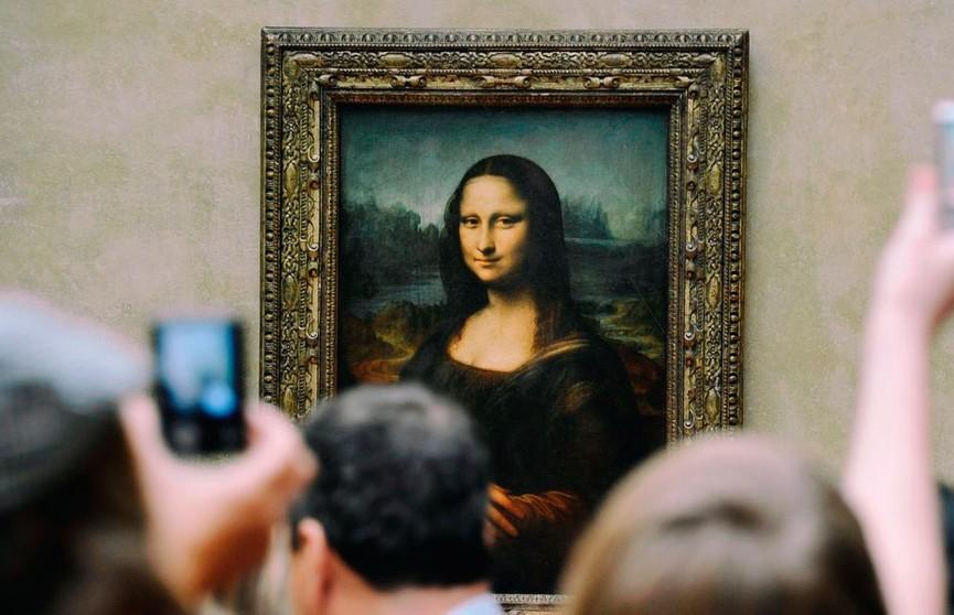 Под «Моной Лизой» Леонардо да Винчи обнаружили скрытый эскиз