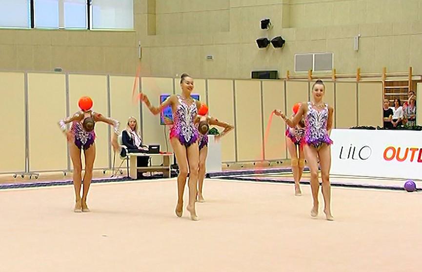 Чемпионат Беларуси по художественной гимнастике стартовал в Минске