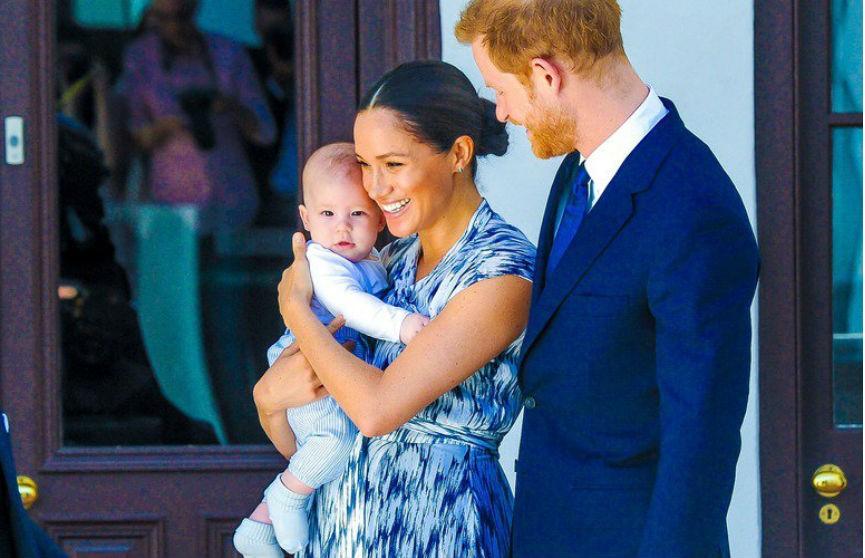 Сын Меган Маркл и принца Гарри впервые выступил в эфире
