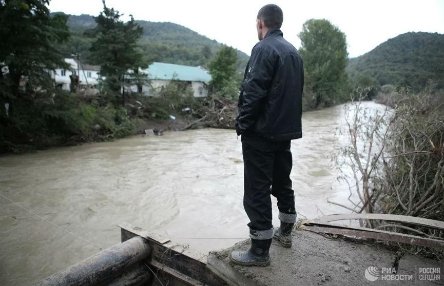Месячная норма осадков за полтора часа выпала в Анапе