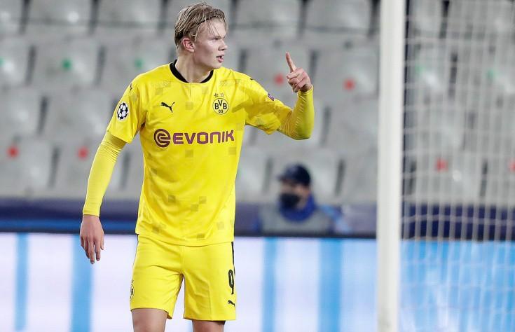 Эрлинг Холанн из дортмундской «Боруссии» признан лучшим молодым футболистом Европы