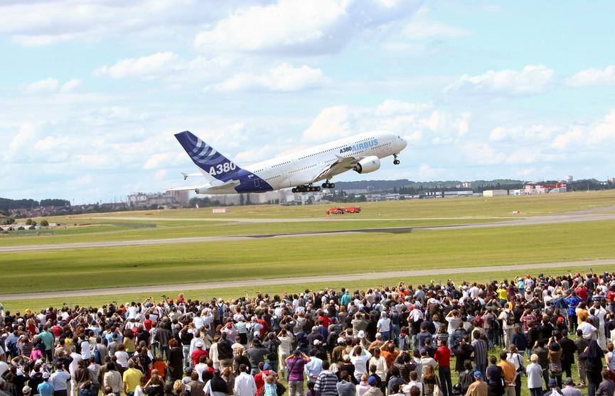 2,5 тысячи компаний представят свои разработки на авиасалоне в Ле-Бурже