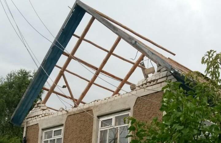 Белорусский торнадо. В Могилёвском районе устраняют последствия урагана (ВИДЕО)