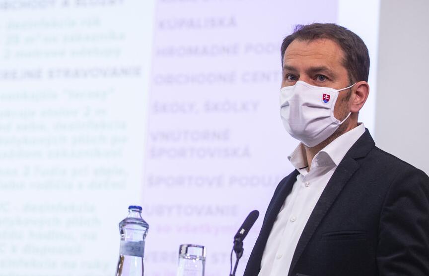 Словакия ослабляет карантин ранее запланированного срока