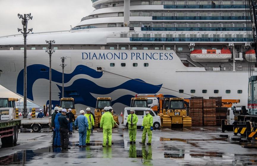 Россиянка заразилась коронавирусом на круизном лайнере Diamond Princess в Японии