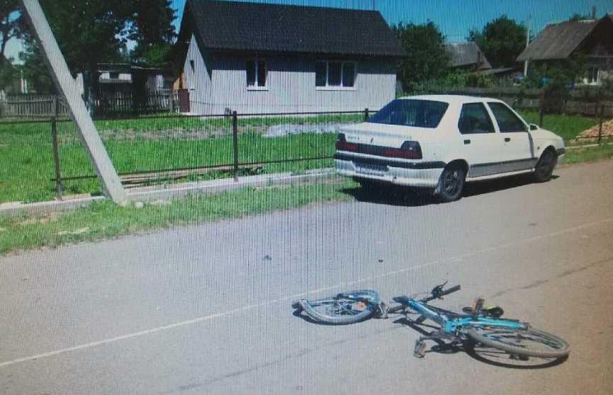13-летний велосипедист попал под колёса Renault