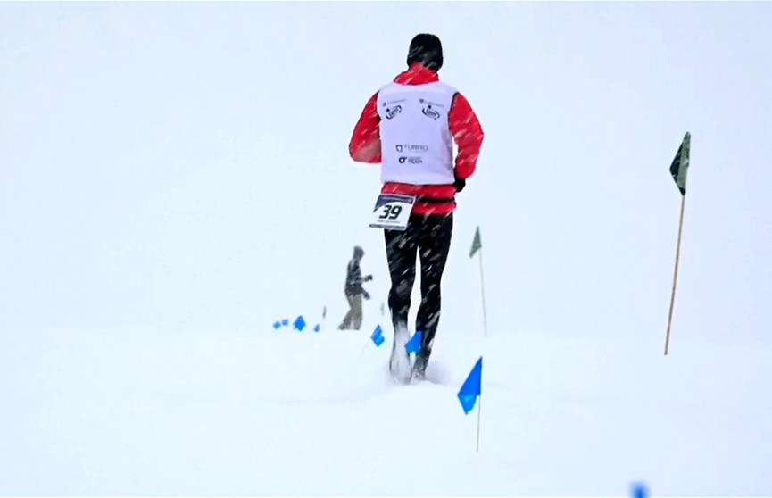 Добежать и не замёрзнуть: в Антарктиде прошёл ледяной марафон