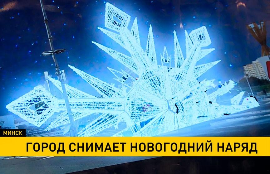 Новогоднее убранство снимают в Минске: как дизайнеры украсят город в следующем году?