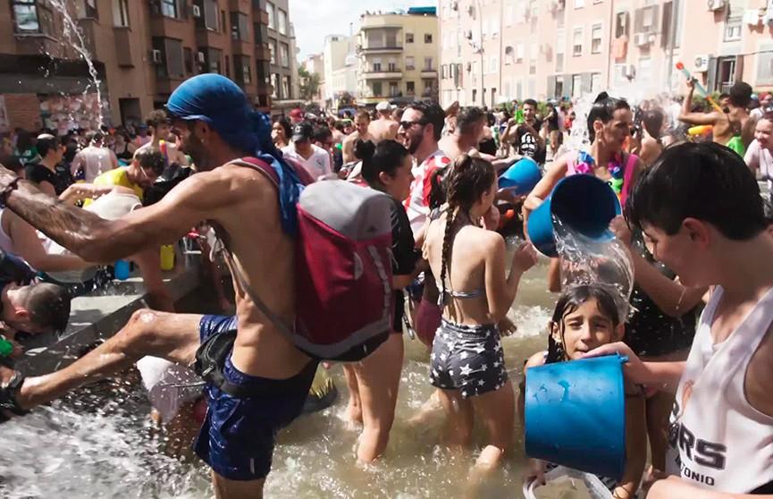 «Водная битва» проходит в Мадриде