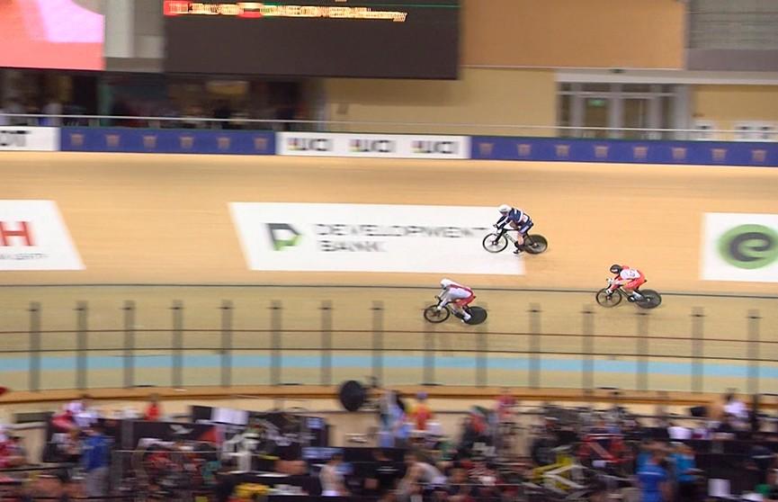 У сборной Беларуси две медали домашнего этапа Кубка мира по велоспорту на треке