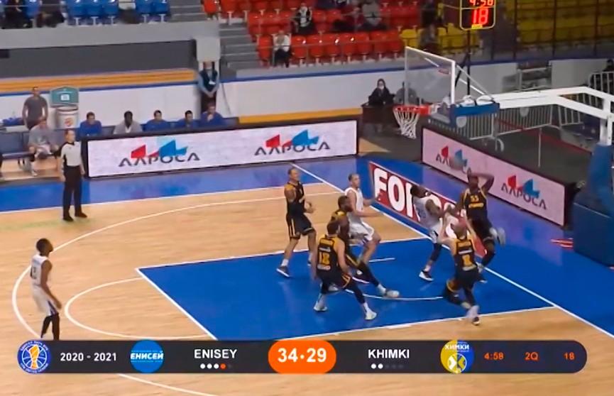 Баскетболисты «Цмокi-Мiнск» сыграют против «Енисея» в матче Единой лиги ВТБ