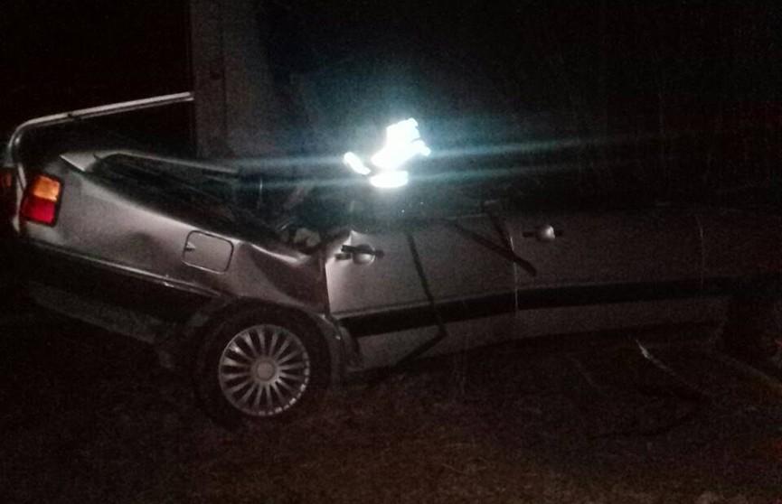 Audi вылетела в кювет на трассе Барановичи-Волковыск: погибла пассажирка