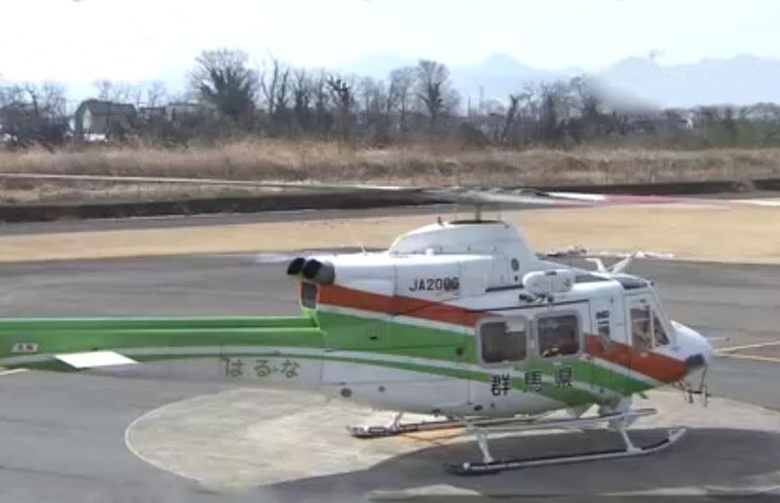 Пропавший в горах Японии спасательный вертолёт разбился