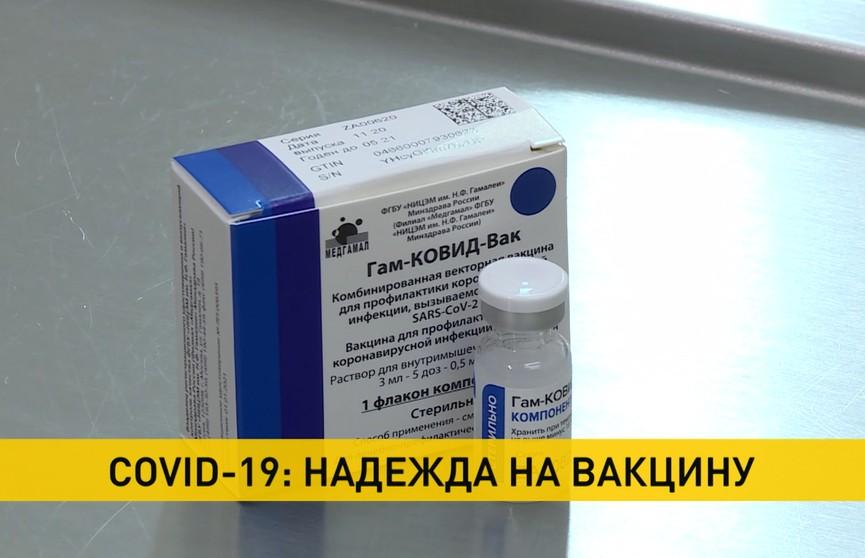Вакцинация против COVID-19: какие технологии передали Беларуси из России и когда их запустят в производство?