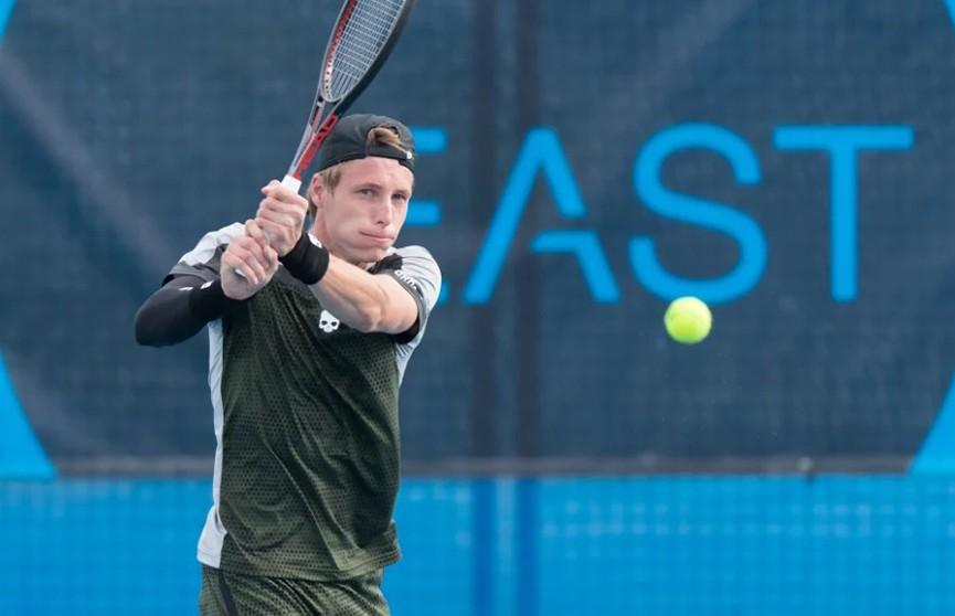 Илья Ивашко проиграл финальный матч тенниского турнира в Канберре