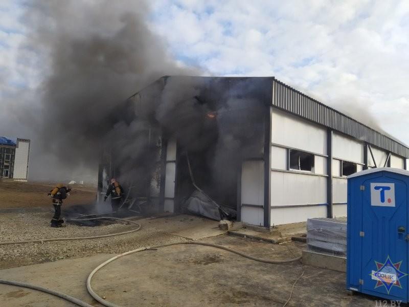 На Витебской птицефабрике произошел пожар. Погиб мужчина