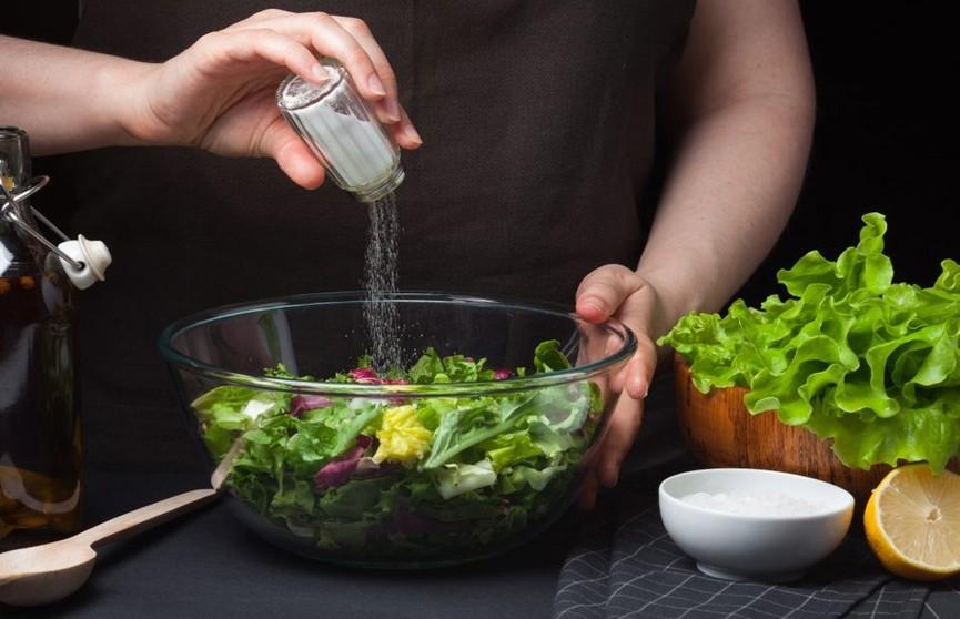 Чрезмерное потребление соли может негативно повлиять на иммунитет