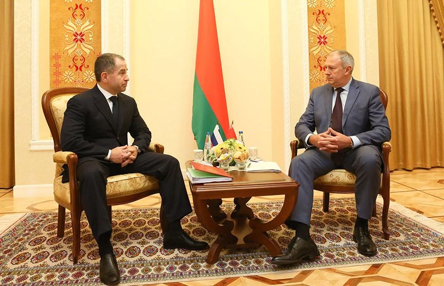 Сергей Румас обсудил актуальные темы с послом России Михаилом Бабичем
