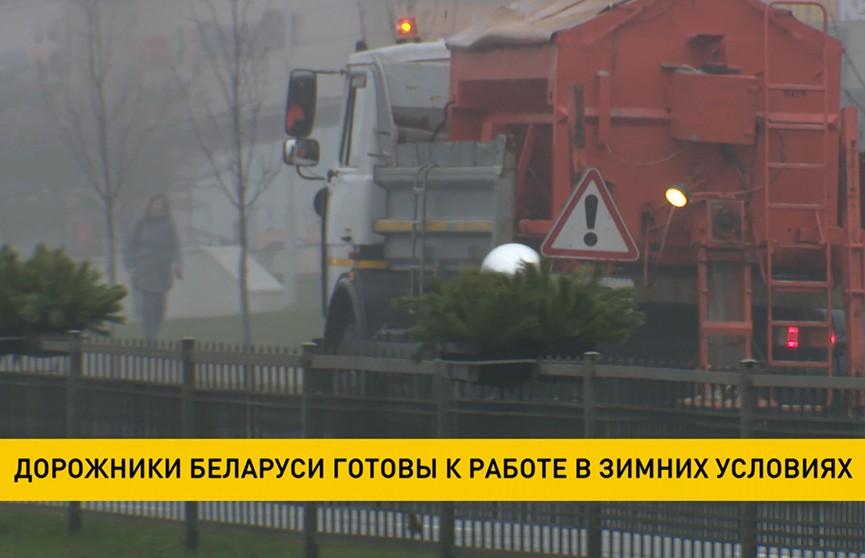 Дорожники Беларуси готовы к работе в зимних условиях