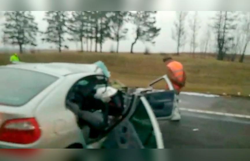 ДТП на подъезде к Минску, затруднено движение машин