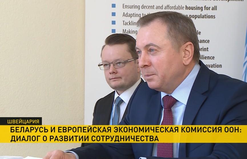 Глава белорусского МИДа призвал к диалогу руководство Европейского и Евразийского экономического союзов
