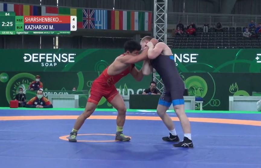 Белорусские борцы завоевали три бронзовые медали на Кубке мира в Белграде