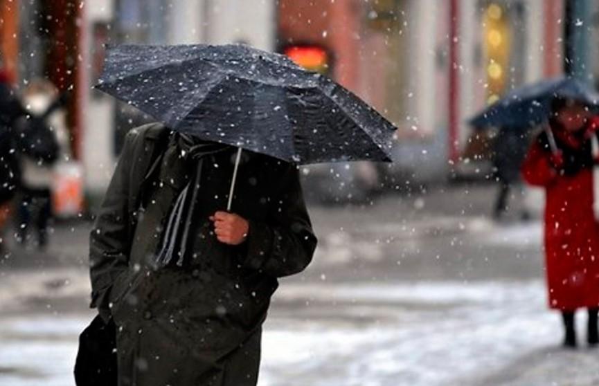 Штормовое предупреждение объявлено в Беларуси: сильные дожди и мокрый снег
