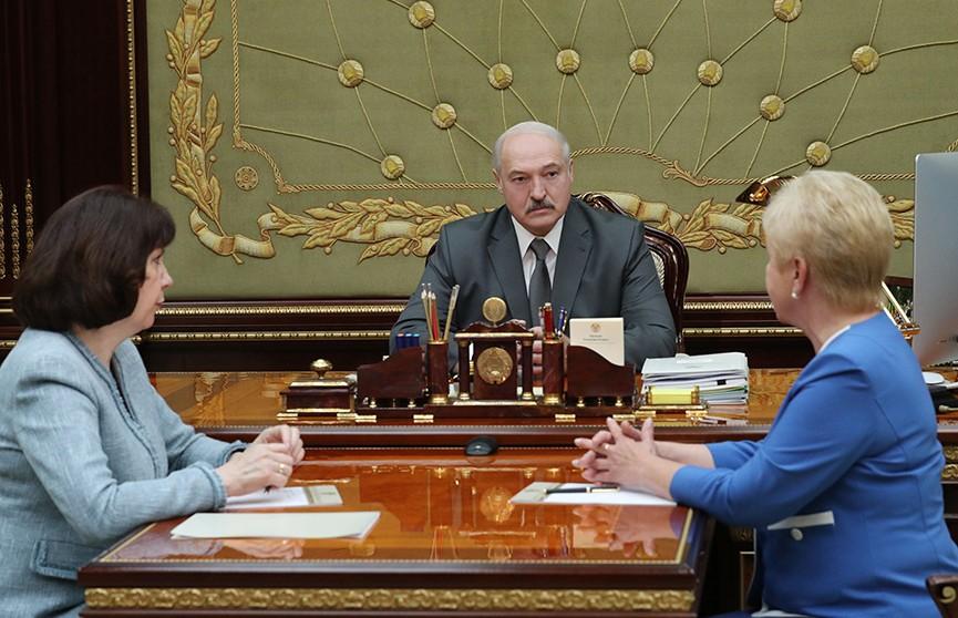 Ермошина предложила Лукашенко провести парламентские выборы 7 и 17 ноября