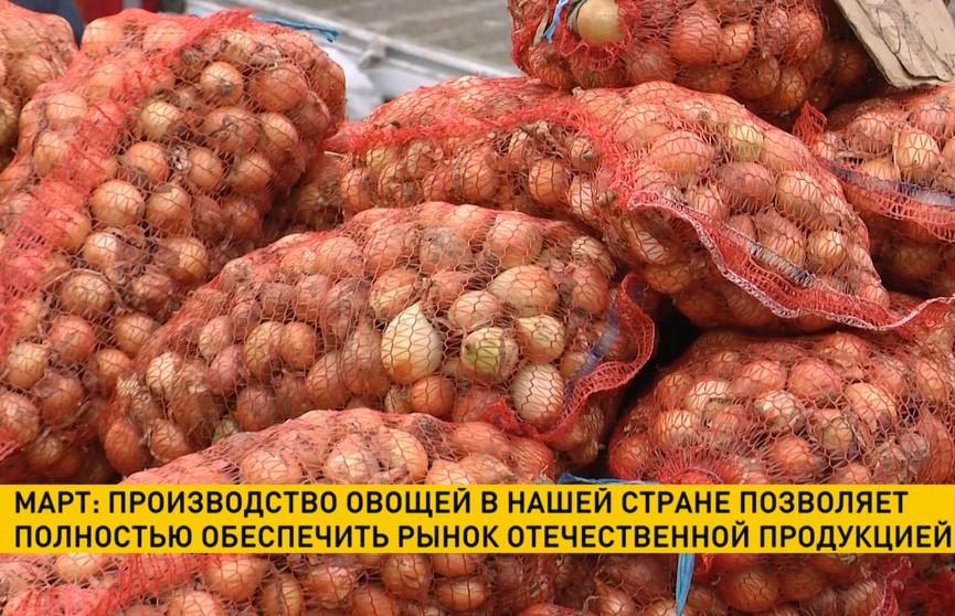 МАРТ: производство овощей в Беларуси позволяет полностью обеспечить отечественный рынок