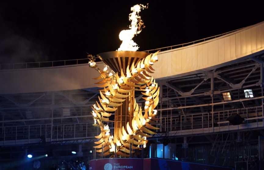 II Европейские игры в Минске открыты. Самые зрелищные моменты церемонии