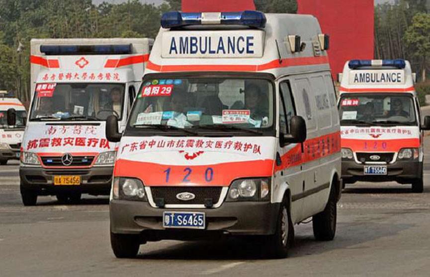 Взрыв на похоронах произошёл в Китае, десятки пострадавших