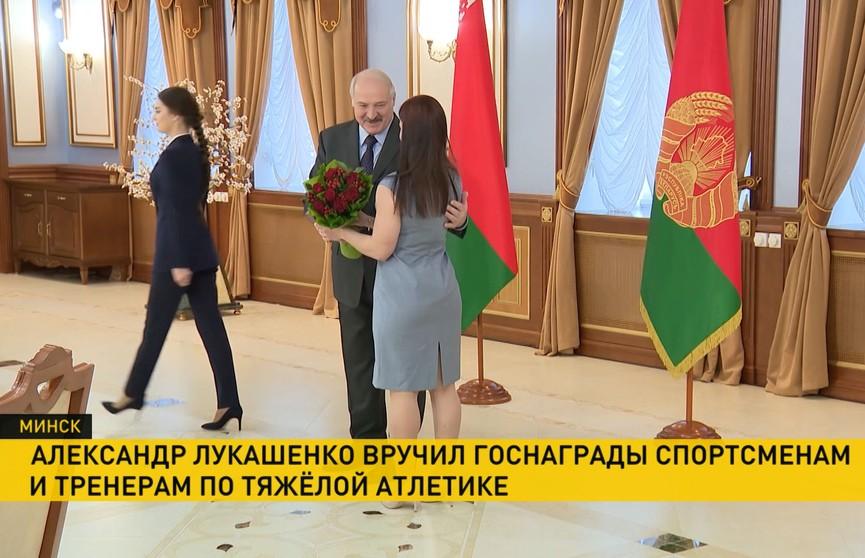 Лукашенко: Тяжёлая атлетика входит в ожерелье тех видов спорта, которые приносят славу