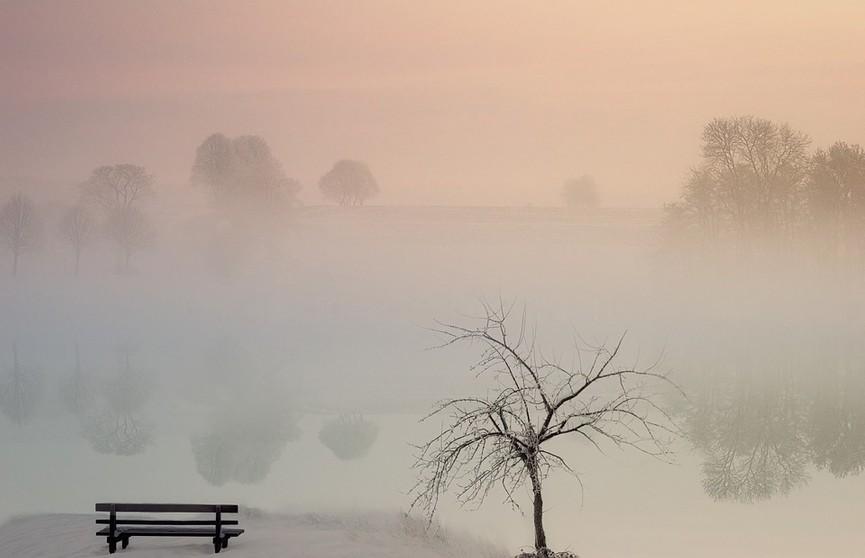 Туман и гололед прогнозируются в Беларуси 1 марта