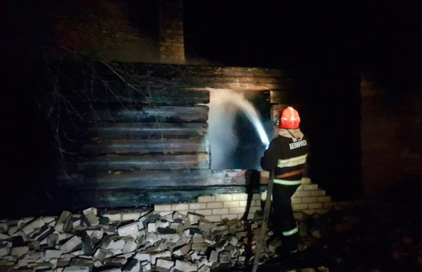Два пожара произошли в Витебской области, есть погибшие