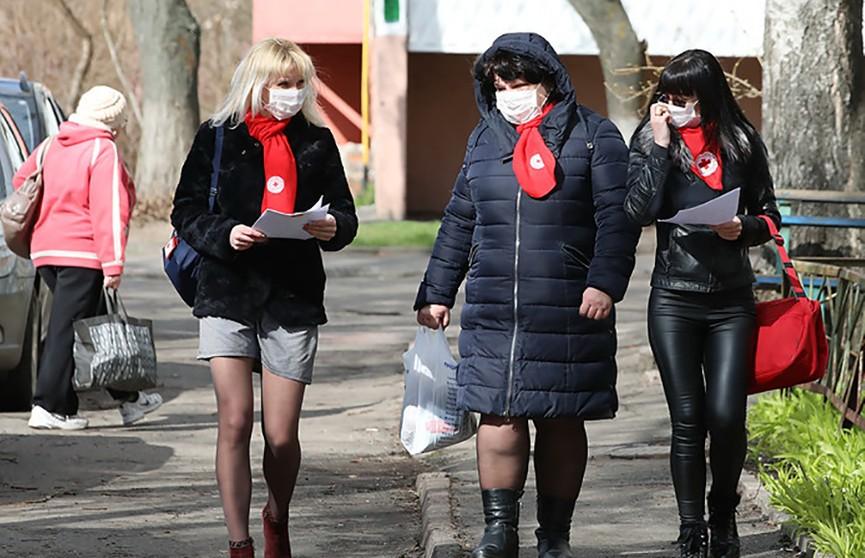 База волонтеров Красного Креста в Могилевской области насчитывает почти 250 человек
