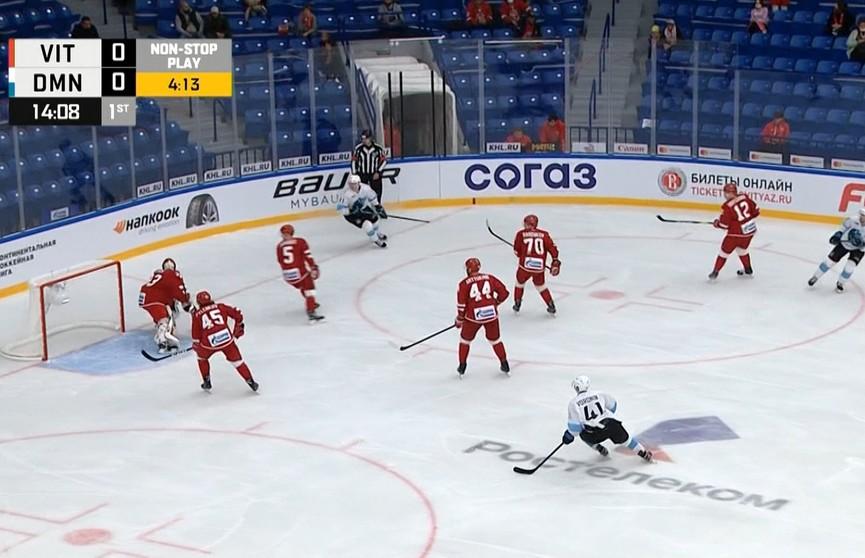 Хоккеисты минского «Динамо» обыграли «Витязь»