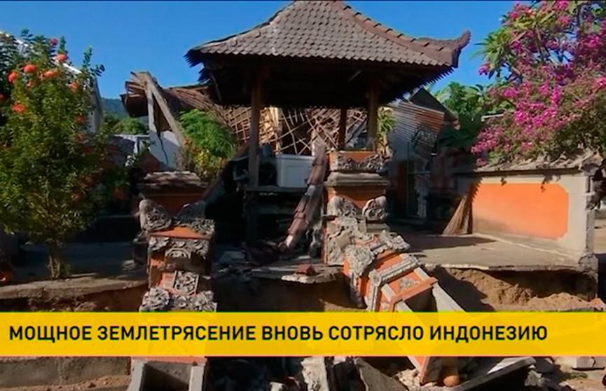 Землетрясения в Индонезии: в списках погибших уже 105 человек