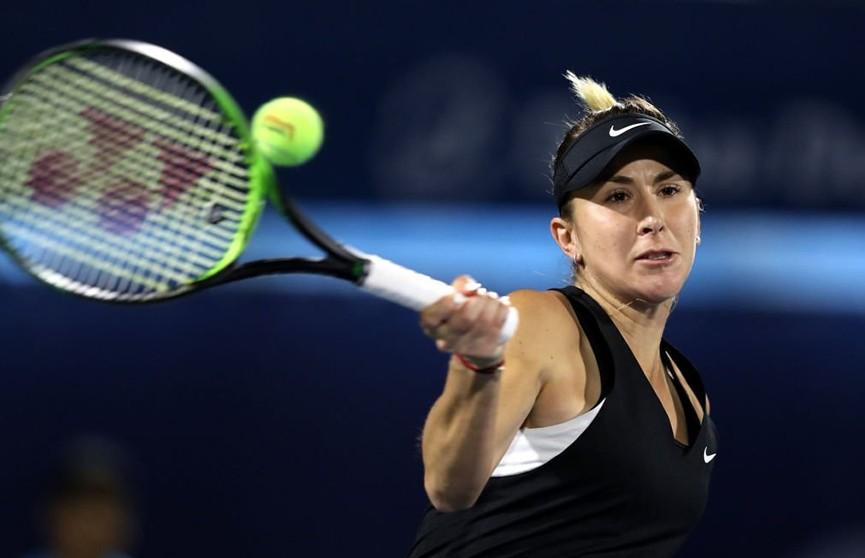 Белинда Бенчич выбила Арину Соболенко из турнира WTA в Дубае