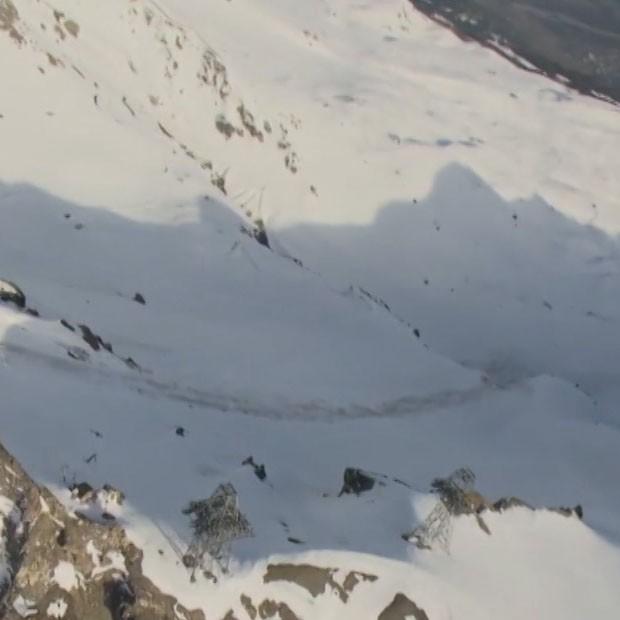 Ратавальнікі прыпынілі пошукавую аперацыю на месцы сходу лавіны на гарналыжным курорце ў Швейцарыі