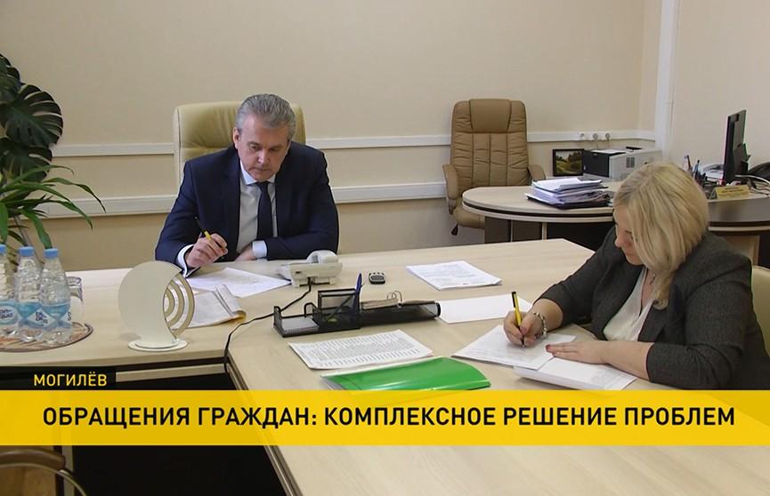 59 обращений поступило во время «Большого разговора» с Президентом из Могилевской области. В исполкомах подводят итоги