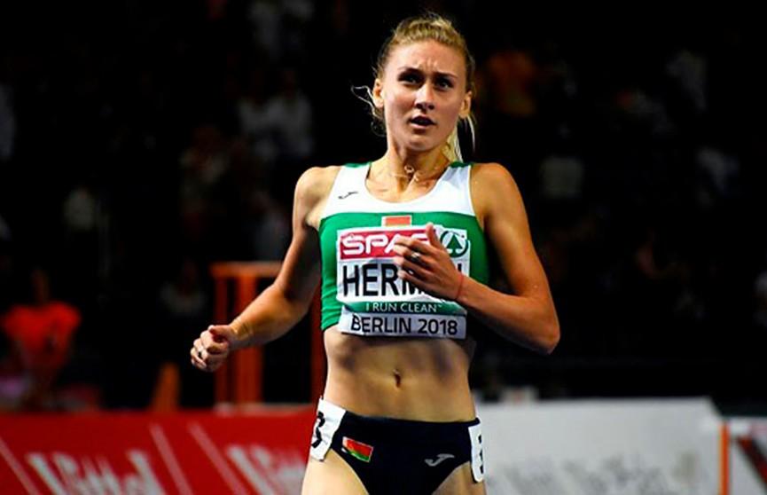 Эльвира Герман завоевала медаль на этапе «Бриллиантовой лиги» в беге на 100 метров с барьерами