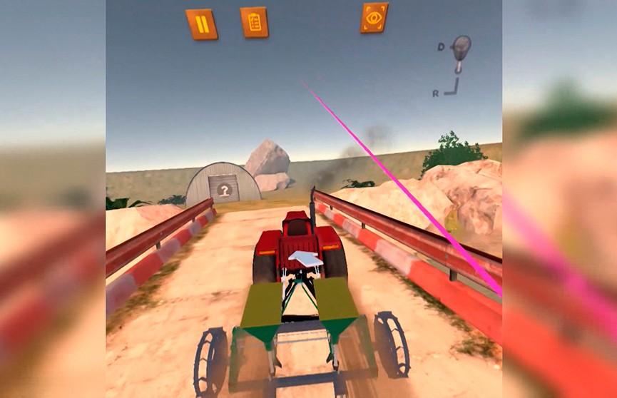Сесть за руль виртуального трактора и опробовать все режимы: аграрный симулятор разработали в минской студии