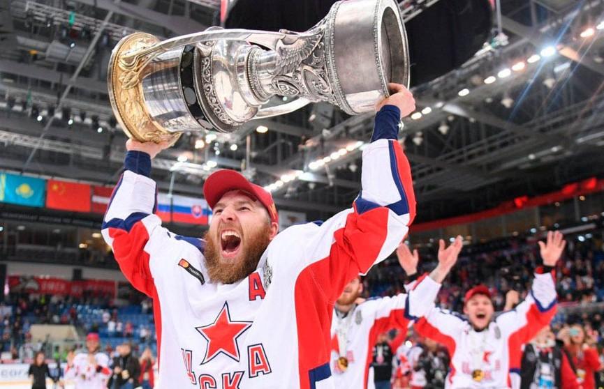 ЦСКА впервые удалось завоевать Кубок Гагарина