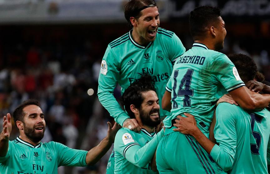 «Реал-Мадрид» вышел в финал Суперкубка Испании