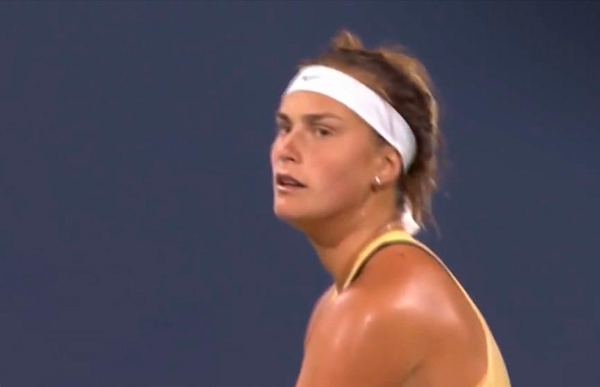 Арина Соболенко продолжает побеждать на теннисном турнире в Сан-Хосе с призовым фондом почти $900 тысяч