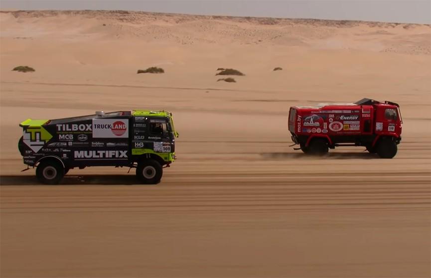 Экипаж МАЗа Сергея Вязовича победил на втором этапе ралли-рейда Morocco Desert Сhallenge