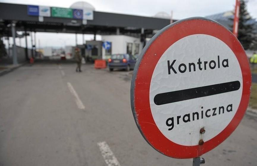 Из-за модернизации терминалов на польской стороне могут возникнуть трудности с пересечением белорусско-польской границы