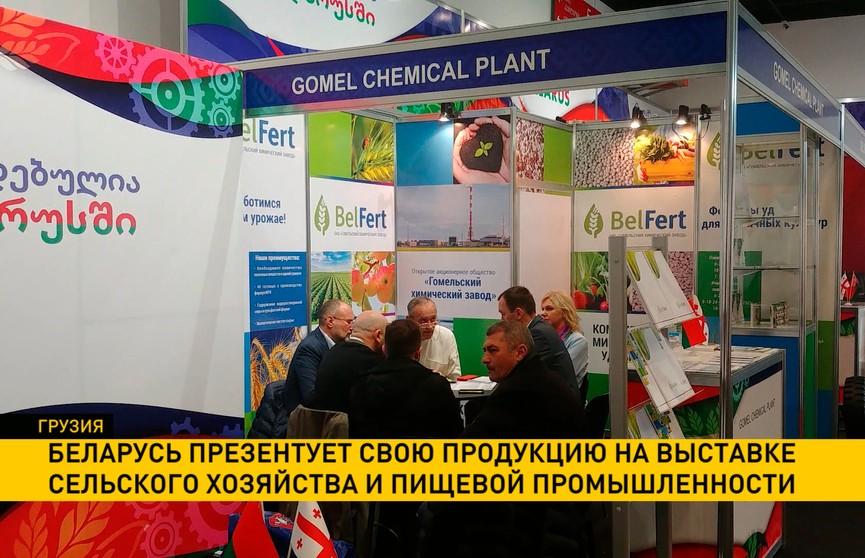 Беларусь презентует свою продукцию на выставке сельского хозяйства и пищевой промышленности в Грузии