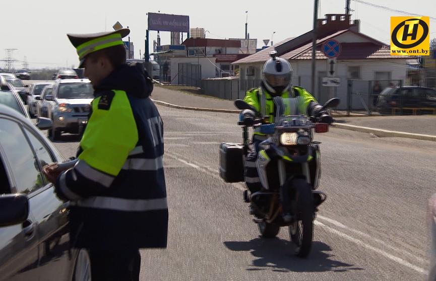 ГАИ перед открытием мотосезона возобновляет усиленный контроль за ситуацией на дорогах